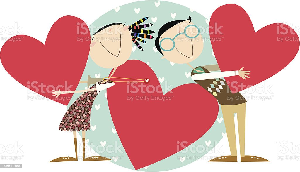 love - Royalty-free Bonding stock vector