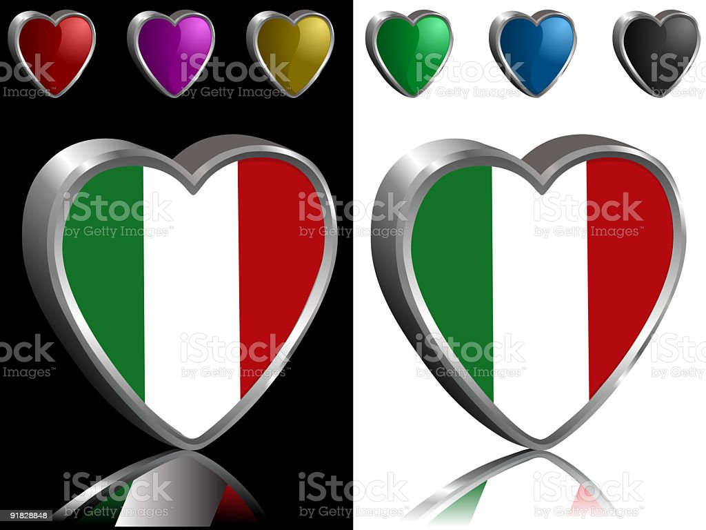 I Love Italy royalty-free i love italy stock vector art & more images of black color