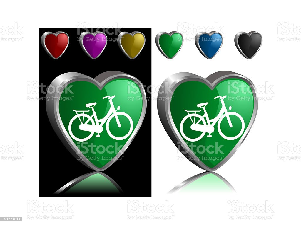 Love my bicycle royalty-free love my bicycle stock vector art & more images of bicycle