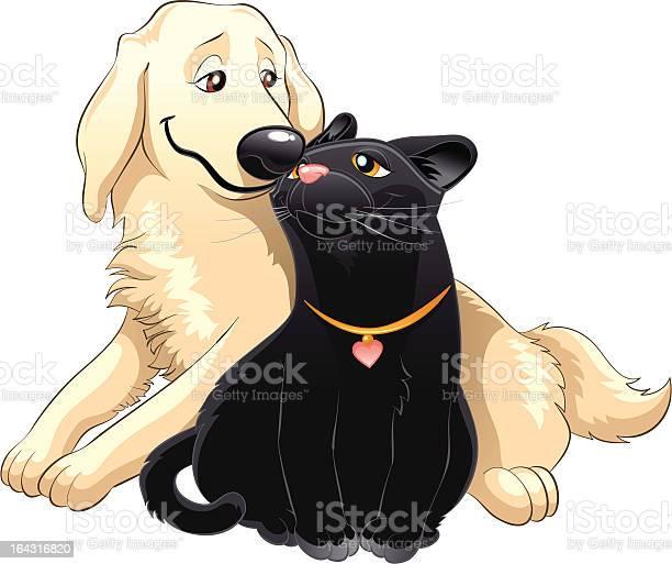 Lovely cat and dog illustration id164316820?b=1&k=6&m=164316820&s=612x612&h=iaj0fmzyen0 2os3bmdykbux4mbjjj4vencj3oyo16o=