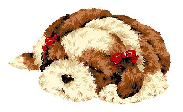 Vectores De Perritos Animados E Ilustraciones Libres De Derechos