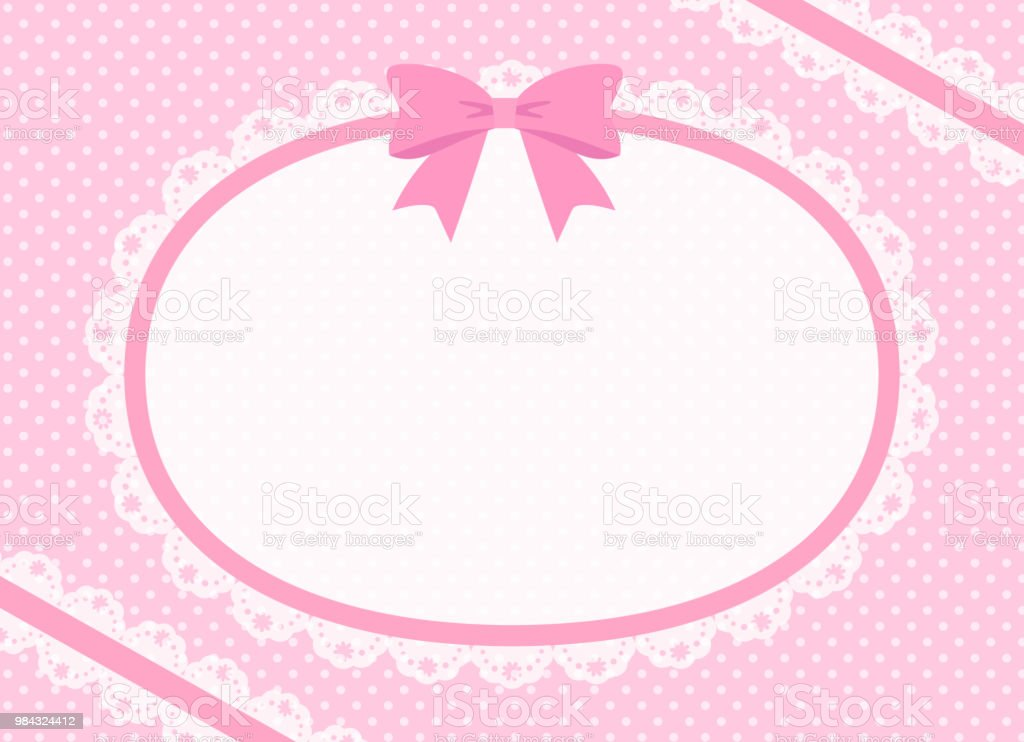 Lovely oval lace Copy space royalty-free lovely oval lace copy space stock vector art & more images of backgrounds