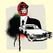 Grunge Luchadora from Mexico