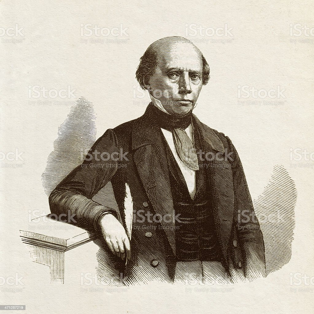 Ludwig Uhland (1787-1862), wood engraving, published in 1879 royalty-free ludwig uhland wood engraving published in 1879 stock vector art & more images of adult student