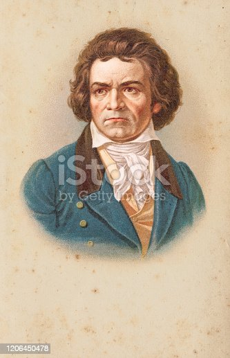 Ludwig van Beethoven baptised 17 December 1770 – 26 March 1827) was a German composer and pianist. Original edition from my own archives Source :