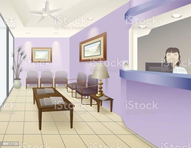 Luxus Büro Stock Vektor Art und mehr Bilder von Abwesenheit