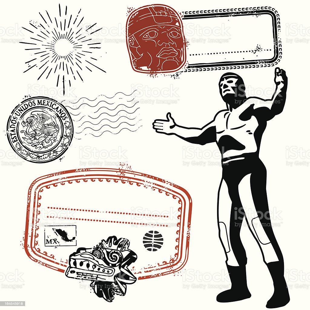 I'm bringin Mexi back! vector art illustration