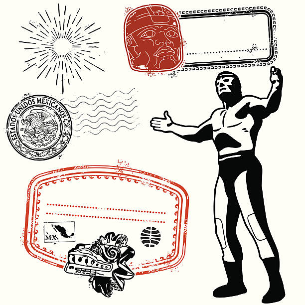 i'm bringin mexi back! - wrestling stock illustrations, clip art, cartoons, & icons