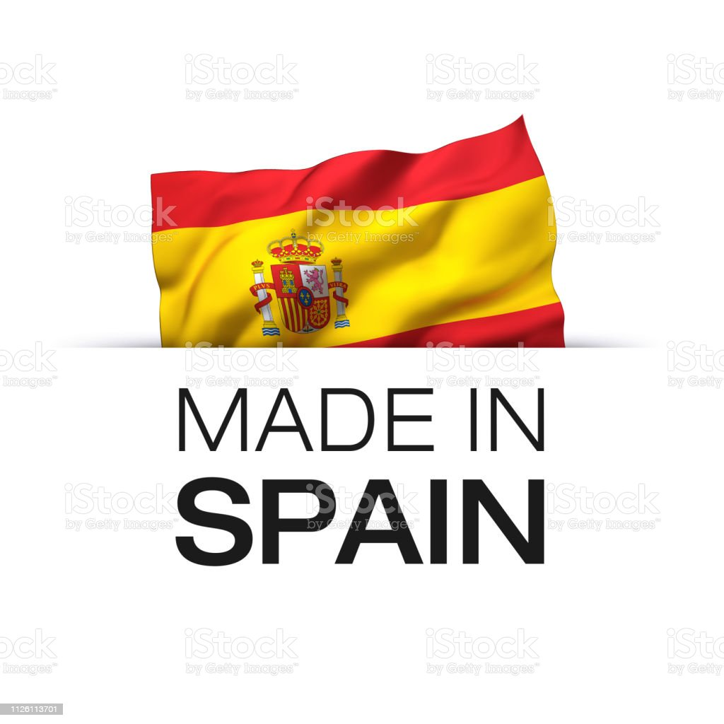 Made In Spain Label Stock Illustration   Download Image Now   iStock