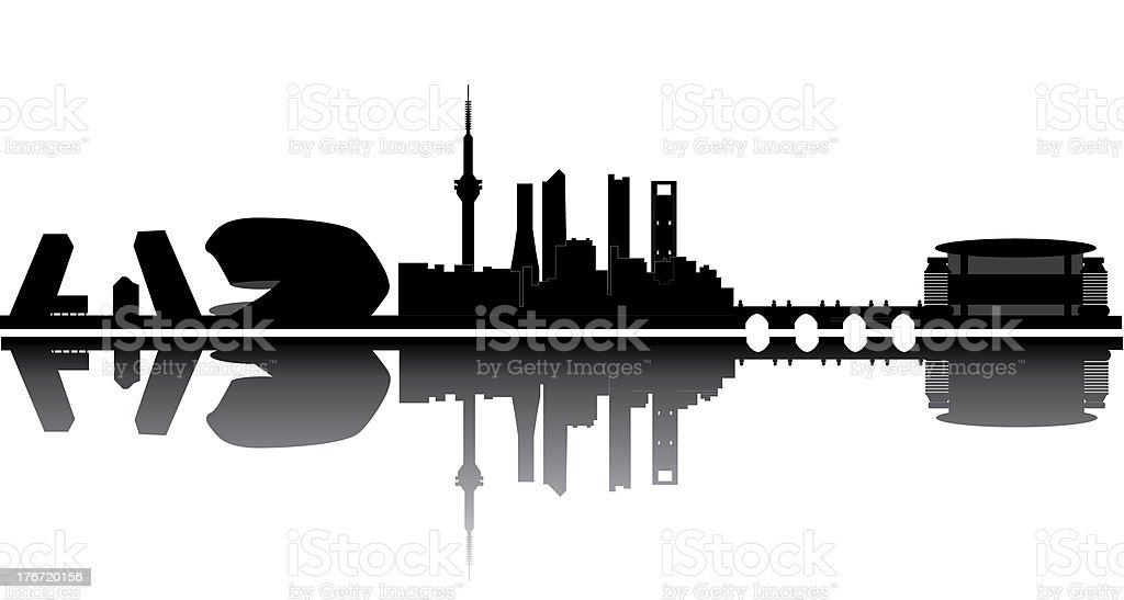 madrid skyline royalty-free madrid skyline stock vector art & more images of architecture