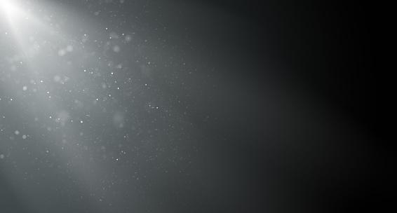 Magic Dust on Dark Background