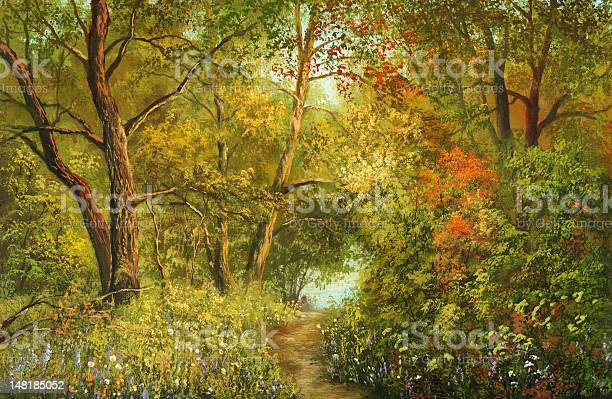 Magnificent Foliage Stock Illustration - Download Image Now