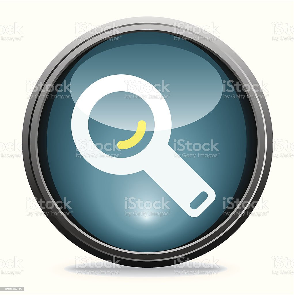 Magnifying Lens | Glass Collection royalty-free magnifying lens glass collection stock vector art & more images of blue