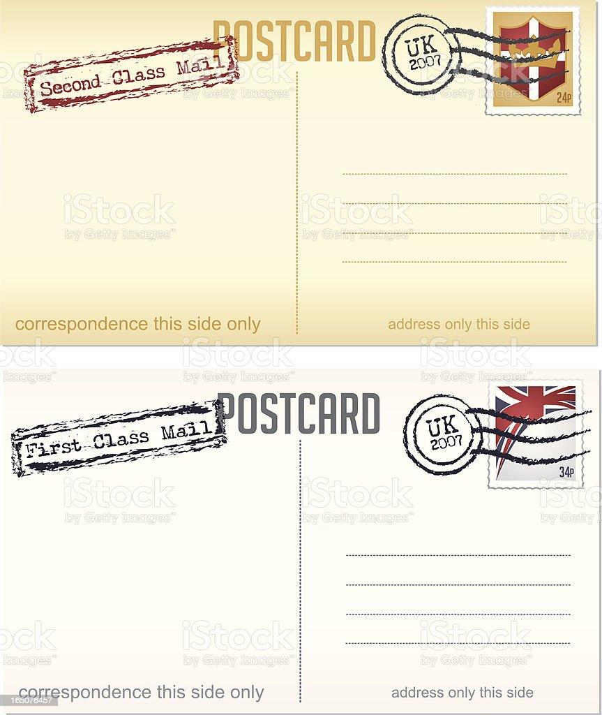 UK Mail royalty-free stock vector art