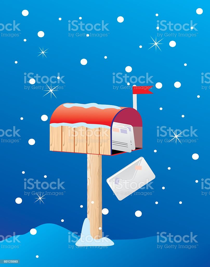 Mailbox royalty-free mailbox stock vector art & more images of cap