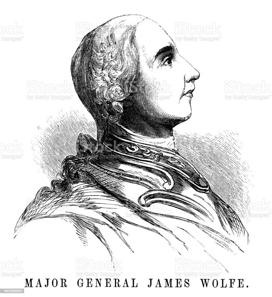 少将のジェームズ ウルフ - 19世...