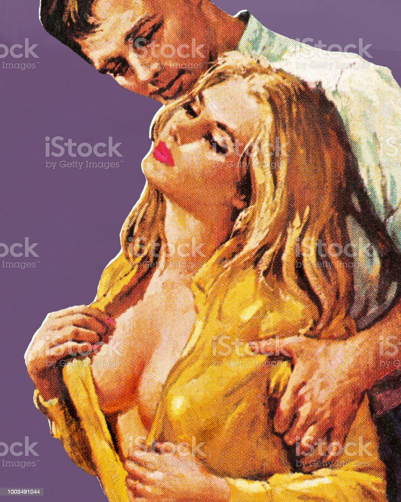 Man And Seductive Woman Stock Illustration - Download Image Now