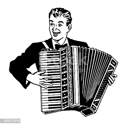 istock Man Playing Accordion 132072319