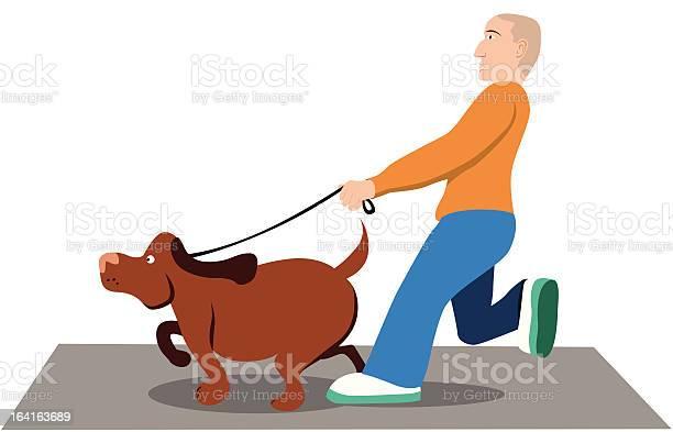Man walking dog illustration id164163689?b=1&k=6&m=164163689&s=612x612&h=zqy6f  tjwimq0x2sneryyp5lkkdwvruc17stiwxblg=