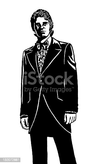 Man Wearing esmoquin