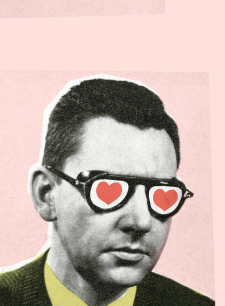 Man with glasses http://csaimages.com/images/istockprofile/csa_vector_dsp.jpg modern art stock illustrations