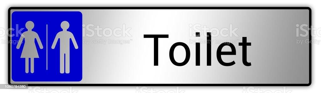 Ilustración de Hombre Signo De Mujer Baño Cuarto De Aseo y ...