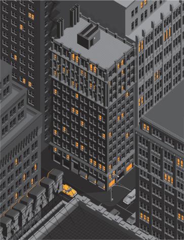 Manhattan Stock Vektor Art und mehr Bilder von Abstrakt