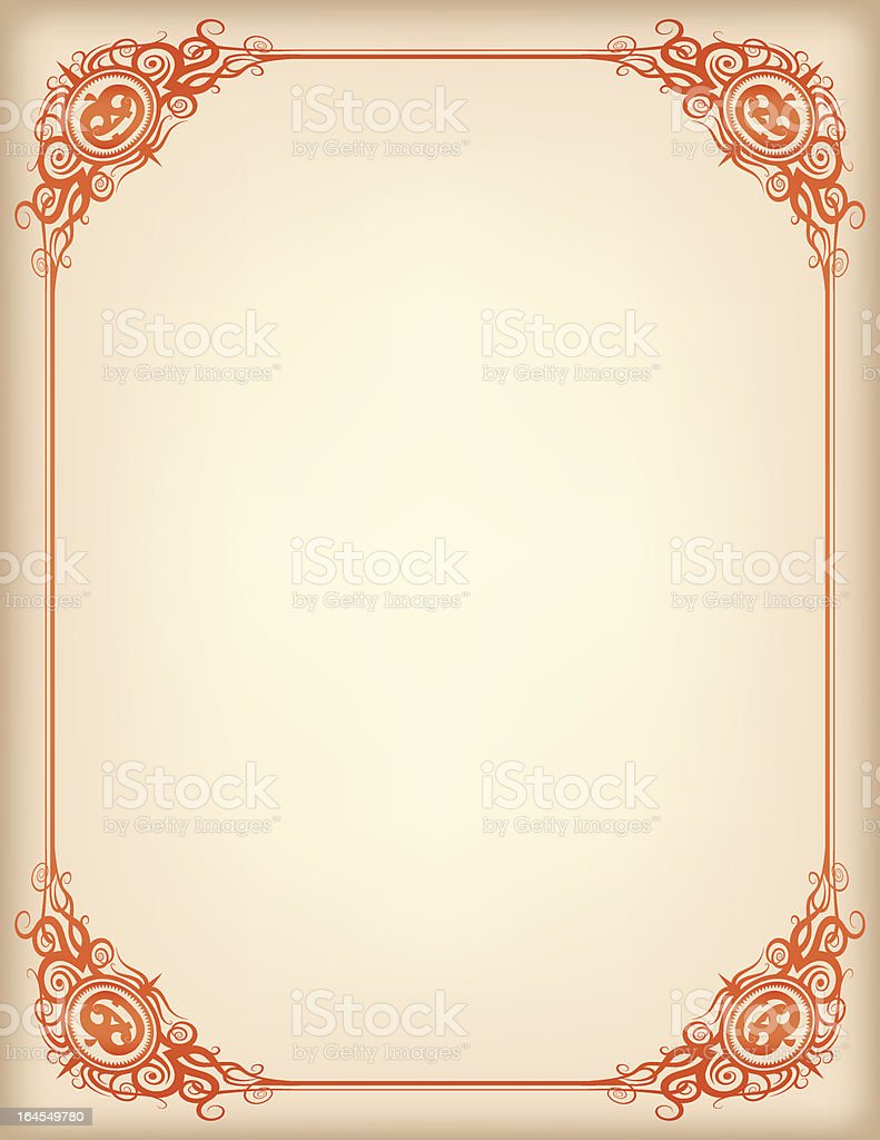 Manilla Spooksville Frame royalty-free manilla spooksville frame stock vector art & more images of antique