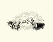 istock Manon Lescaut Man puttng a ring on a womans finger 862347904