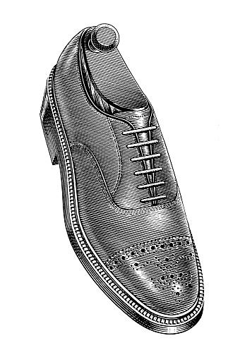 Man's Dress Shoe