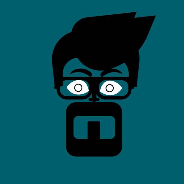 ilustrações de stock, clip art, desenhos animados e ícones de mans face - ronaldo
