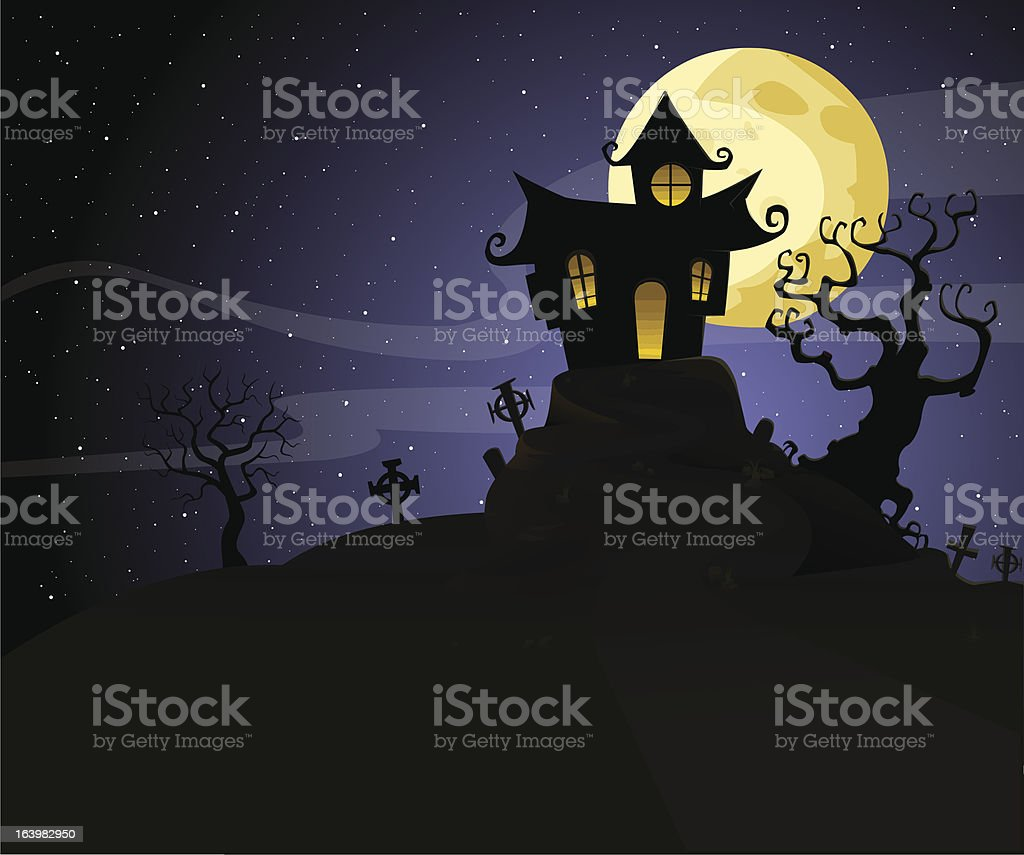 Mansion royalty-free mansion stock vector art & more images of hill