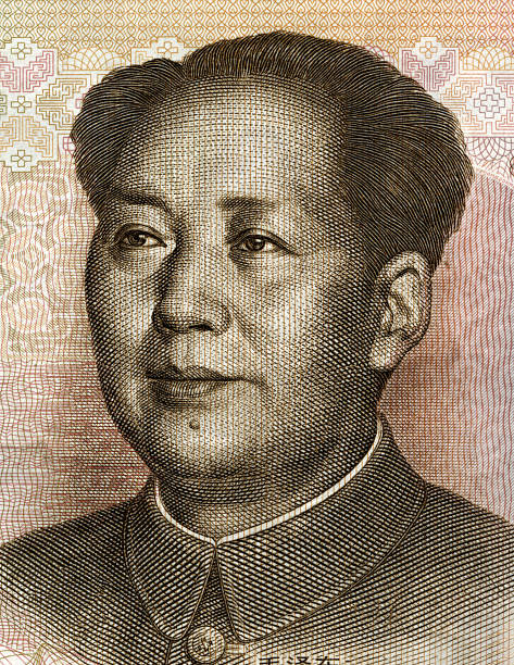Mao, Picture on the frontside of chinese currency (20 yuan) Picture on the frontside of chinese currency (20 yuan) mao tse tung stock illustrations