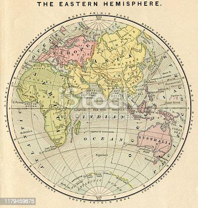 Appleton's American Standard Geography 1881
