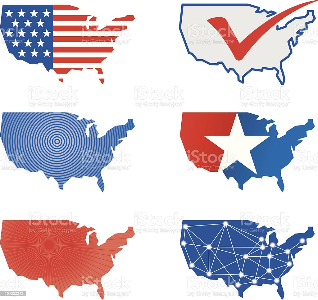 Usa map icon stock vector art more images of american flag usa map icon royalty free usa map icon stock vector art amp more images sciox Choice Image