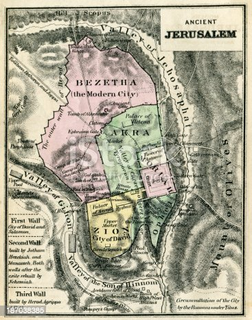 map-of-ancient-jerusalem-illustration-id187038385?s=170667a Map Comp Image on