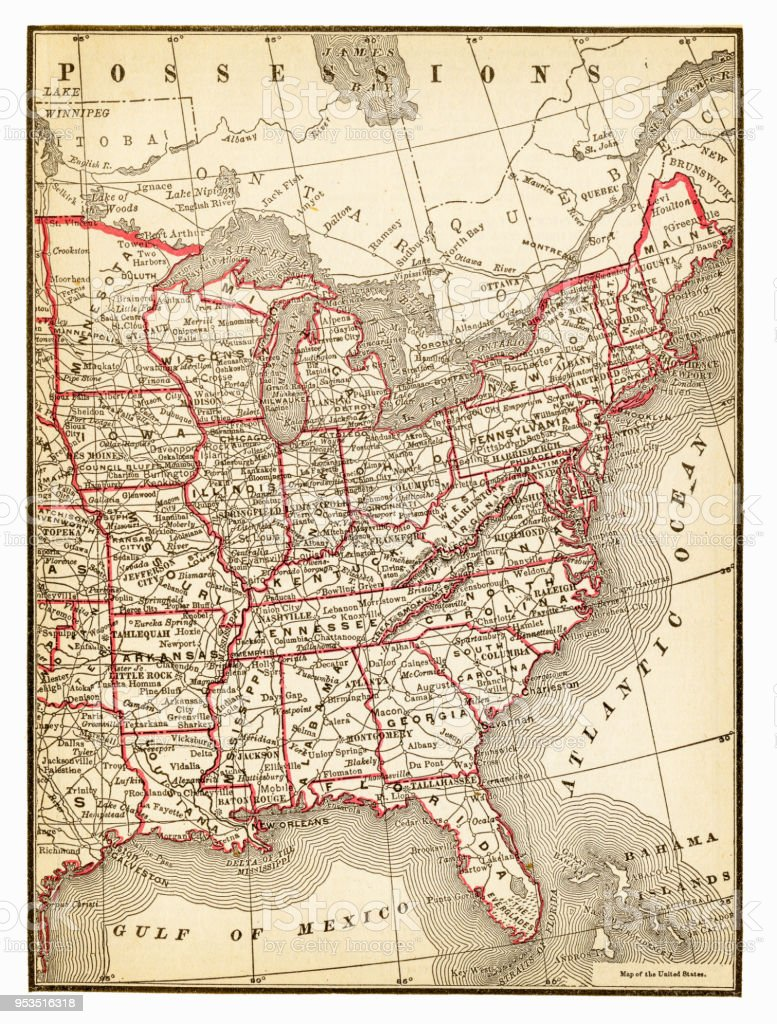 Map Of Central And East Usa 1893 Stock Illustration ... Map East Usa on eastern us map, western united states, east us states, central united states, east mississippi, northeast united states road map, northern united states, europe map, southeastern united states, northeastern united states, canada map, northwestern united states, east north america, united kingdom map, east roman empire, southeast us road map, northeast america map, east coast of the united states, printable southeast united states map, east pennsylvania, eastern north america map, east oakland ca, west north central states, west coast of the united states, eastern canada, east virginia, new south, midwestern united states, france map, uk map,