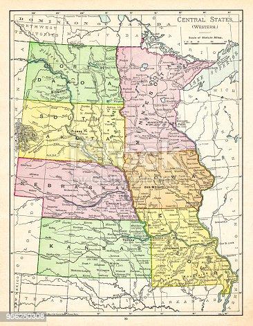 The Rand-McNally Grammar School Geography 1895 - Chicago & New York