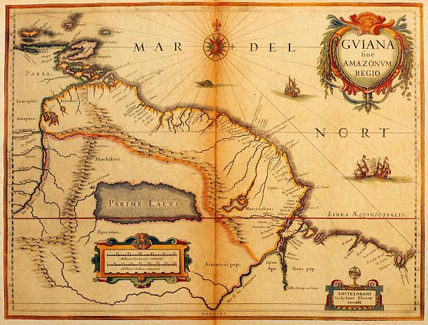 Guiana Highlands Map Illustrations, Royalty-Free Vector ...