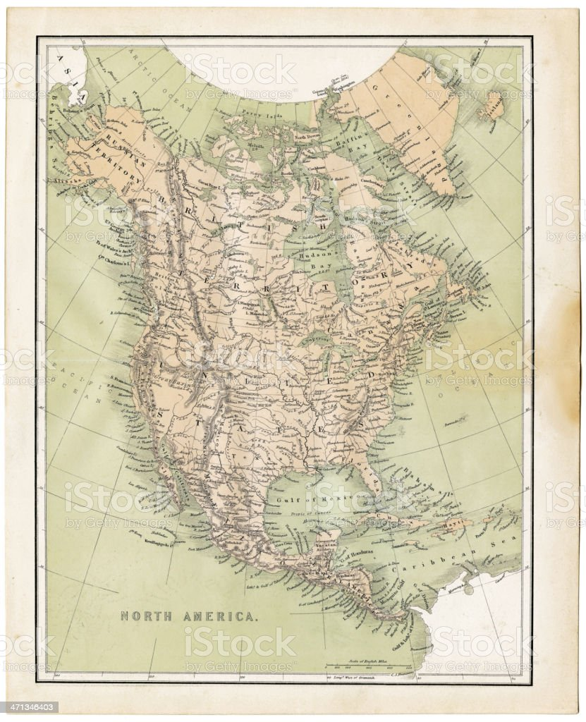 Map Of North America 1860 Stock Vector Art & More Images of ... Map Of America on map of civil war 1860, map of usa in 1860, map of religion in 1860, map of the united states 1860, map of prussia 1860, map of boston 1860, map of kansas 1860, map of chicago 1860, map of alabama 1860, map of western states in 1860, map of u.s. 1860,