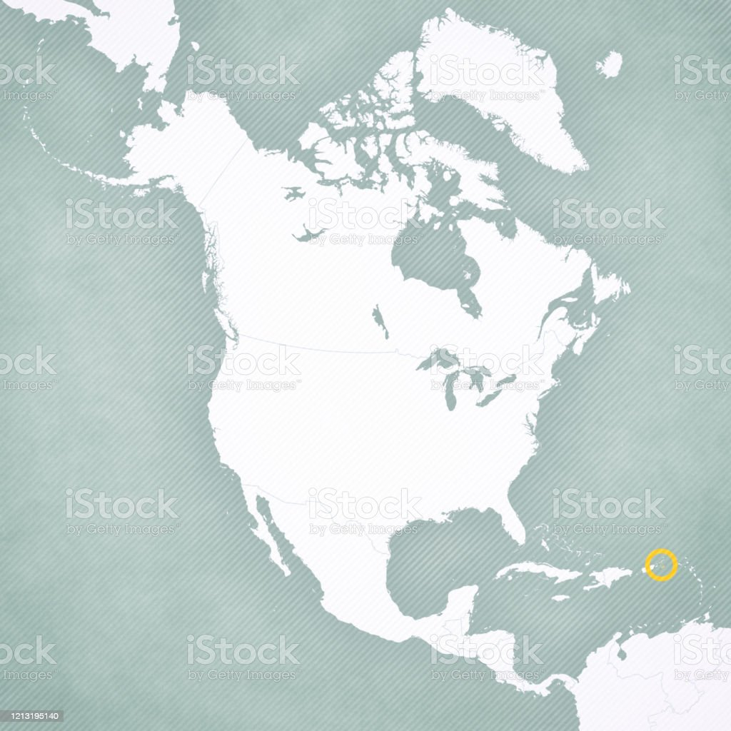 Picture of: Map Of North America Us Virgin Islands Stock Illustration Download Image Now Istock