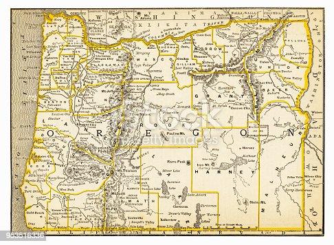 New Pocket Atlas  / Rand, McNally & Co -1893