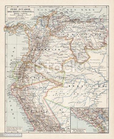 Meyers hand-Atlas Leipzig und Wien Verlag des Bibliographischen Instituts 1900