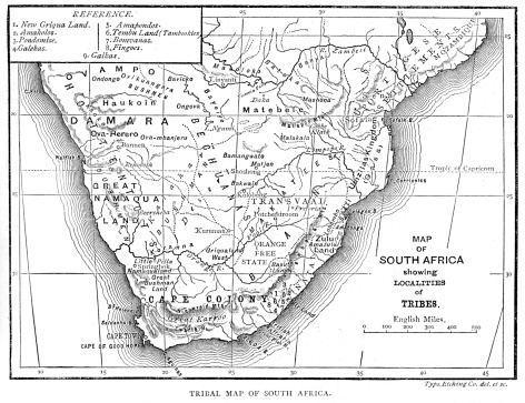 Map Of South Africa Stock Illustration - Download Image Now ...