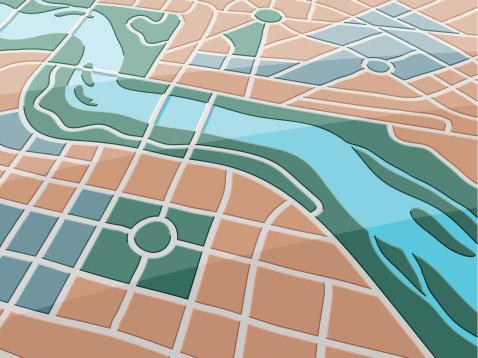 Map River City