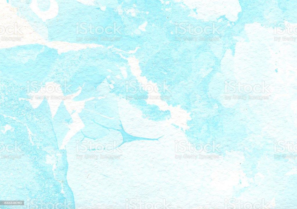 Marble blue background vector art illustration