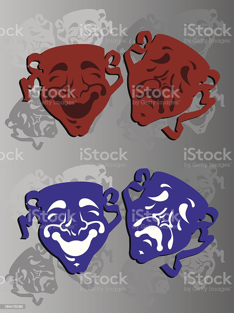 Mardi Gras Theatre mask royalty-free mardi gras theatre mask stock vector art & more images of accidents and disasters