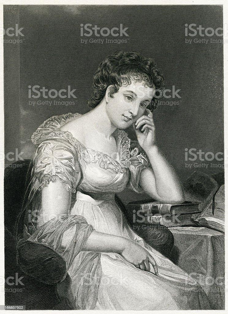Maria Edgeworth royalty-free stock vector art