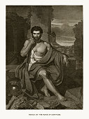 istock Marius on the Ruins of Carthage Engraving 917912230