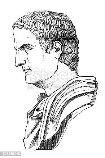 istock Mark Antony (c.83-30 BC), Roman politician and commander 696885246